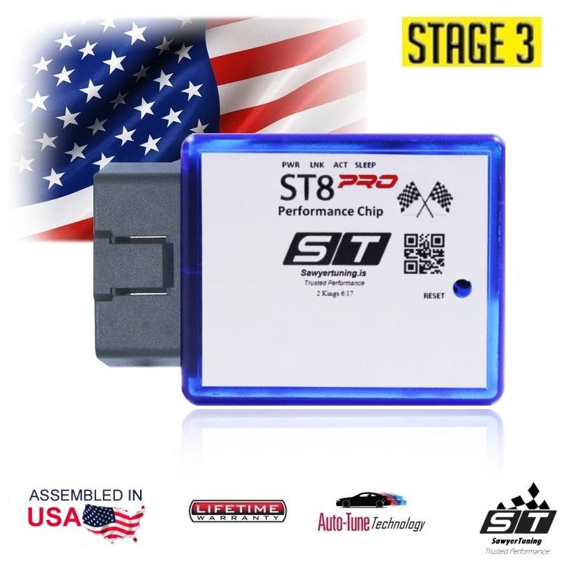 Stage 3 ST8PRO OBD GAS / DIESEL Performance Chip Tuner Module Programmer